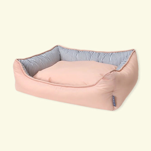 Sugar Candy Square Bed (Peach)