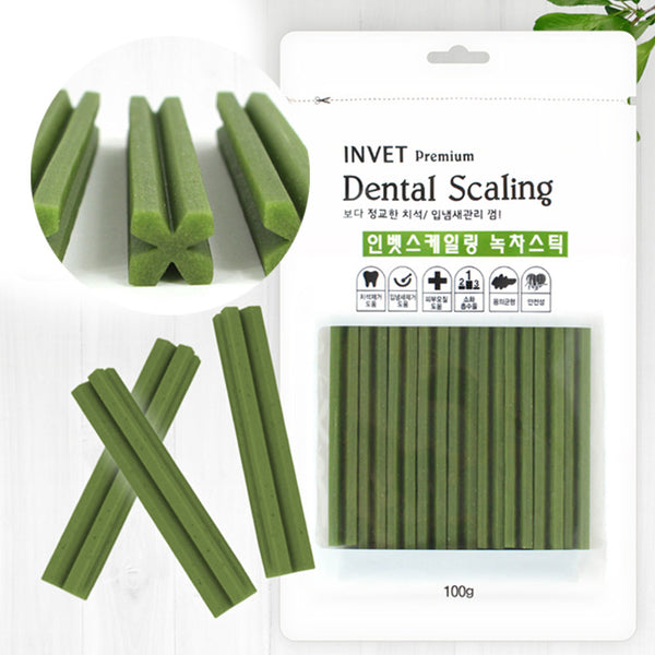 Dental Scaling Plaque & Breath Care Sticks (Green Tea)