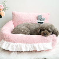 Comfort Square Bed (Baby Pink)