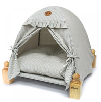 Wood Tent House (Gray)