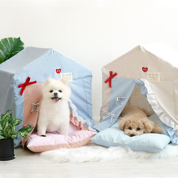 Framed Pastel Tent House