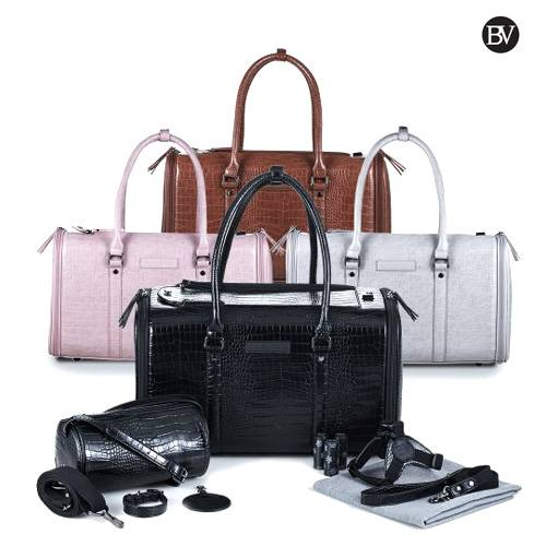 Vegan Leather Bag & Accessories Set