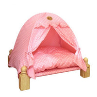 Wood Tent House (Pink)