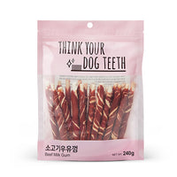 Think Your Dog Teeth Beef Milk Gums (20 Pieces)