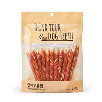 Think Your Dog Teeth Salmon Milk Gums (20 Pieces)