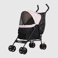 Foldable Pet Stroller (Baby Pink)