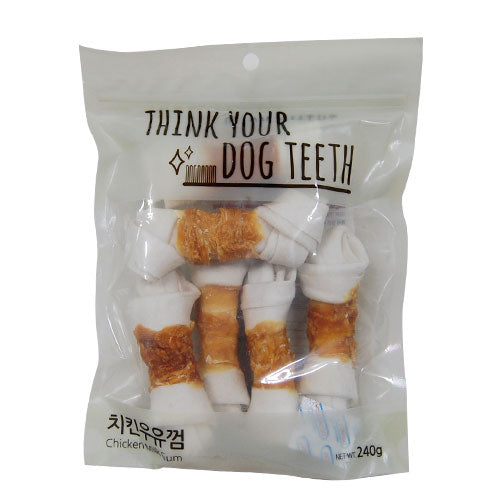 Think Your Dog Teeth Chicken Milk Gums (6 Pieces)