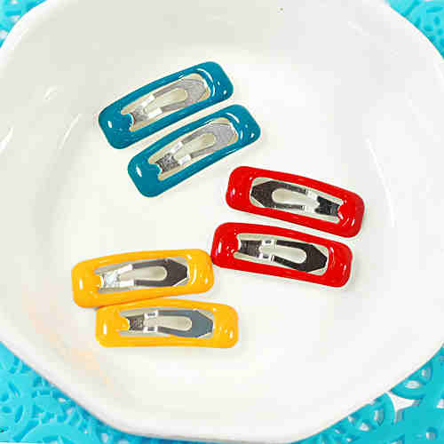 Rectangle Hair Clip (Small)