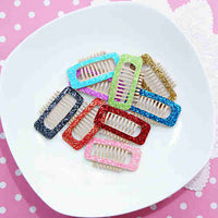 Glitter Comb Hair Clip (Large)