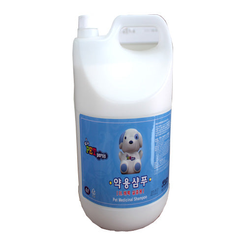 Ticks & Fleas Control Medicated Shampoo 4L