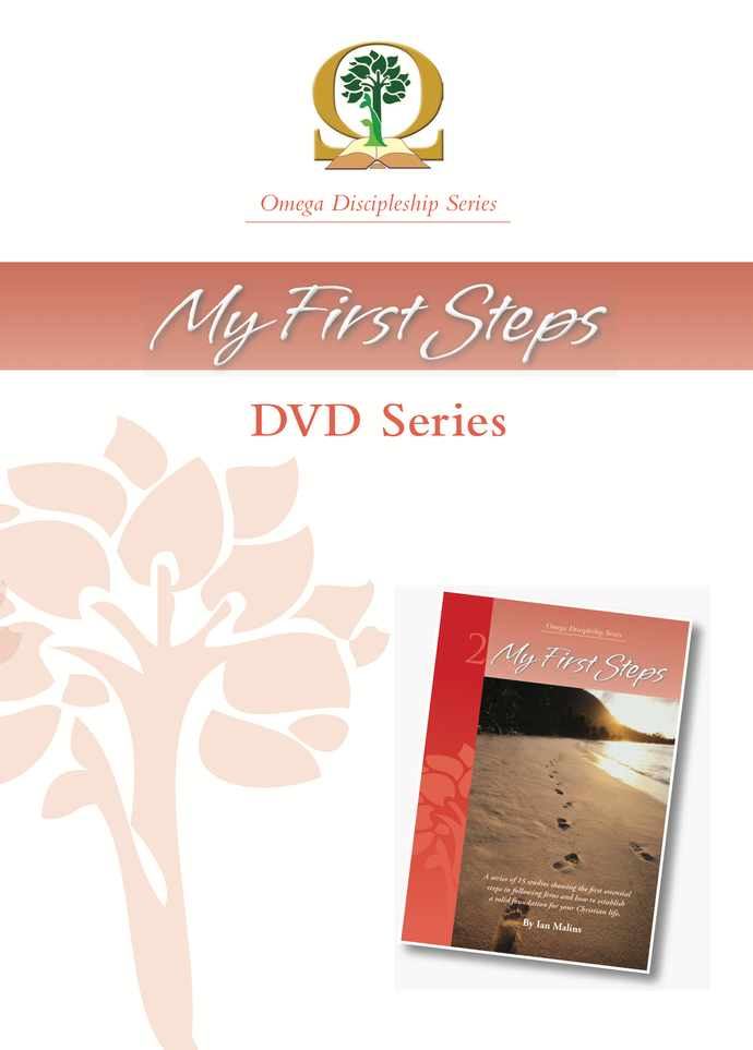 Discipleship Series – Book 2: My First Steps DVD - Omega Discipleship Ministries