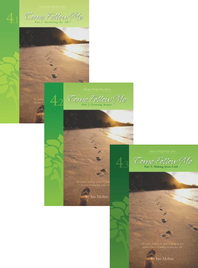 Discipleship Series Come Follow Me - 3 Volume Set - Omega Discipleship Ministries