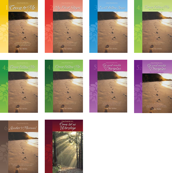 Discipleship Series - Complete Set of 10 Books - Omega Discipleship Ministries