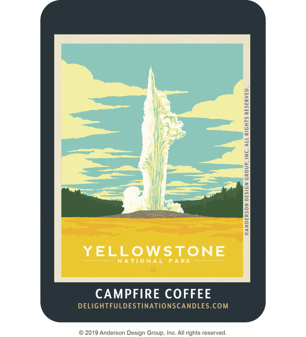 Yellowstone Air Freshener: Old Faithful