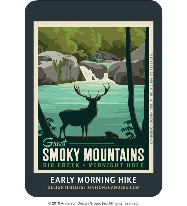 Great Smoky Mountains Air Freshener: Big Creek