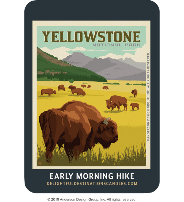 Yellowstone Air Freshener: Bison Herd