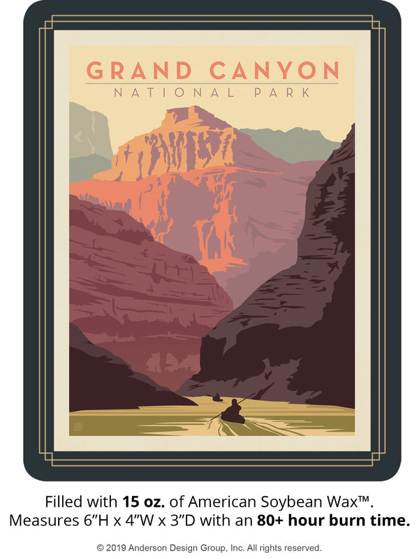 Grand Canyon Keepsake Jar: Kayak