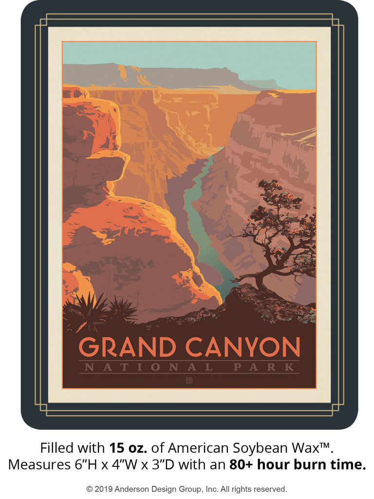 Grand Canyon Keepsake Jar: River View