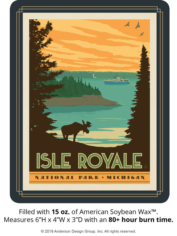 Isle Royale Keepsake Jar