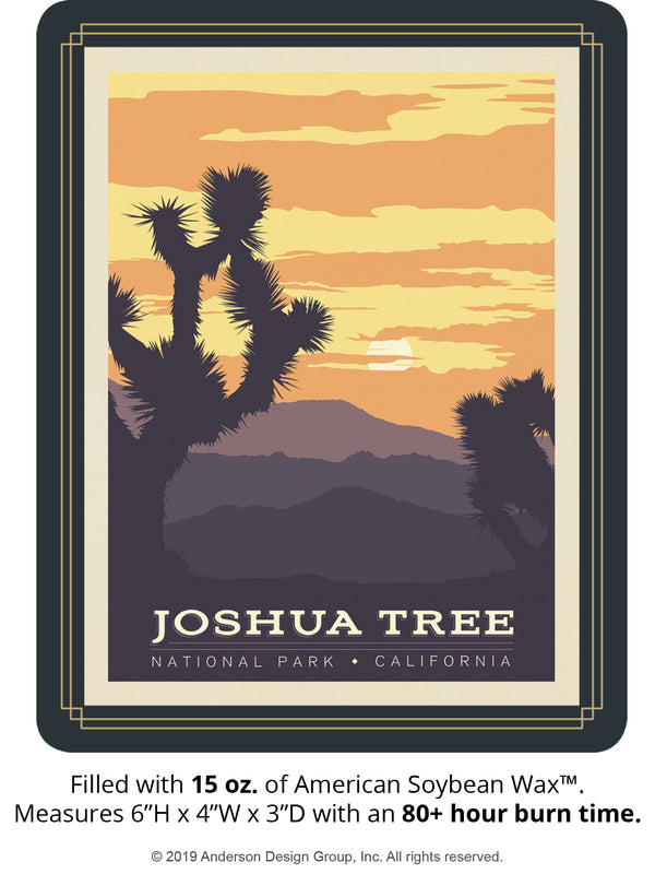 Joshua Tree Keepsake Jar