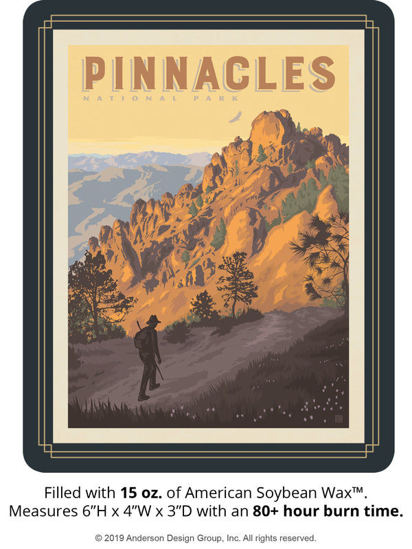 Pinnacles Keepsake Jar: High Peaks Trail
