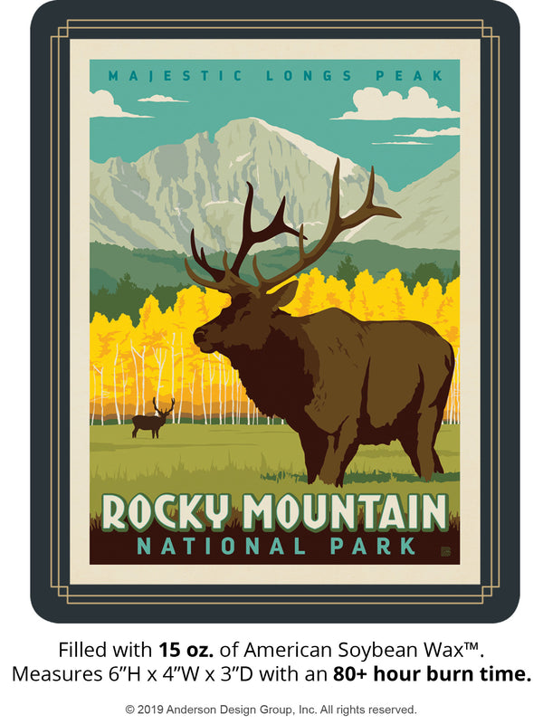 Rocky Mountain Keepsake Jar: Longs Peak