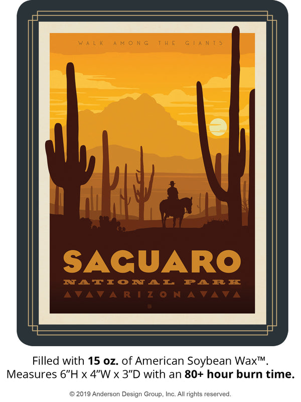 Saguaro Keepsake Jar