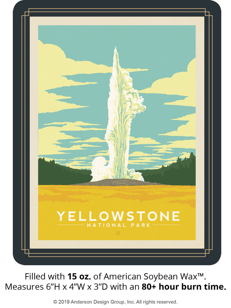 Yellowstone Keepsake Jar: Old Faithful