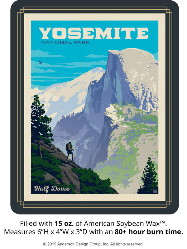 Yosemite Keepsake Jar: Half Dome Vista