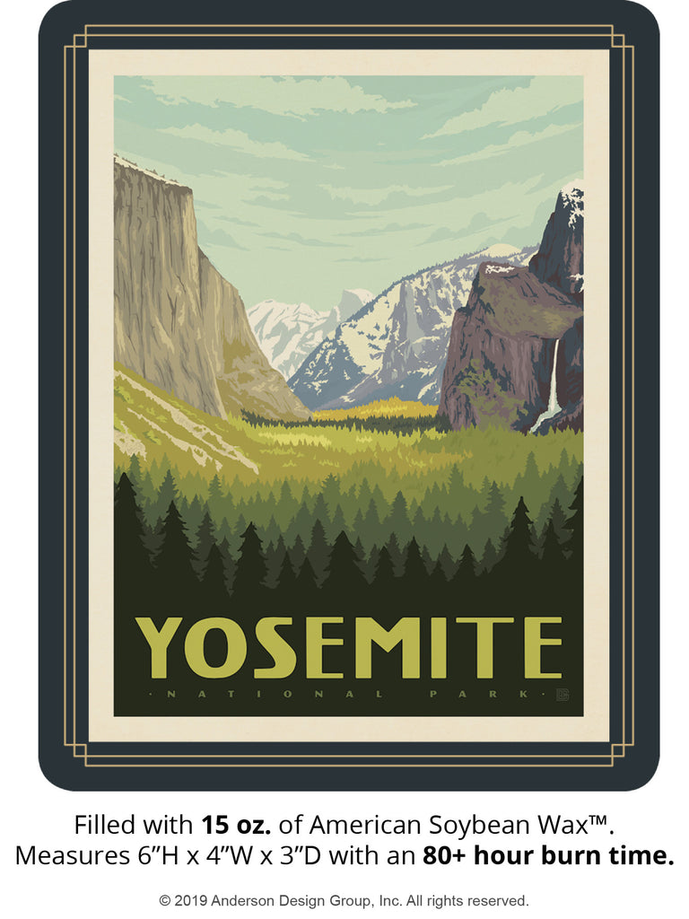 Yosemite Keepsake Jar: Yosemite Valley