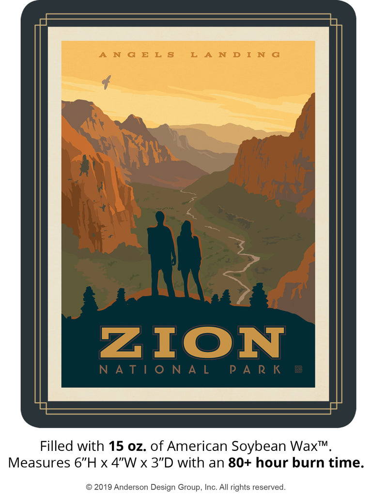 Zion Keepsake Jar: Angel's Landing