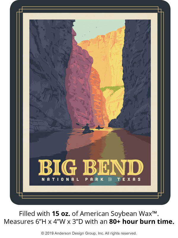 Big Bend Keepsake Jar: Rio Grande