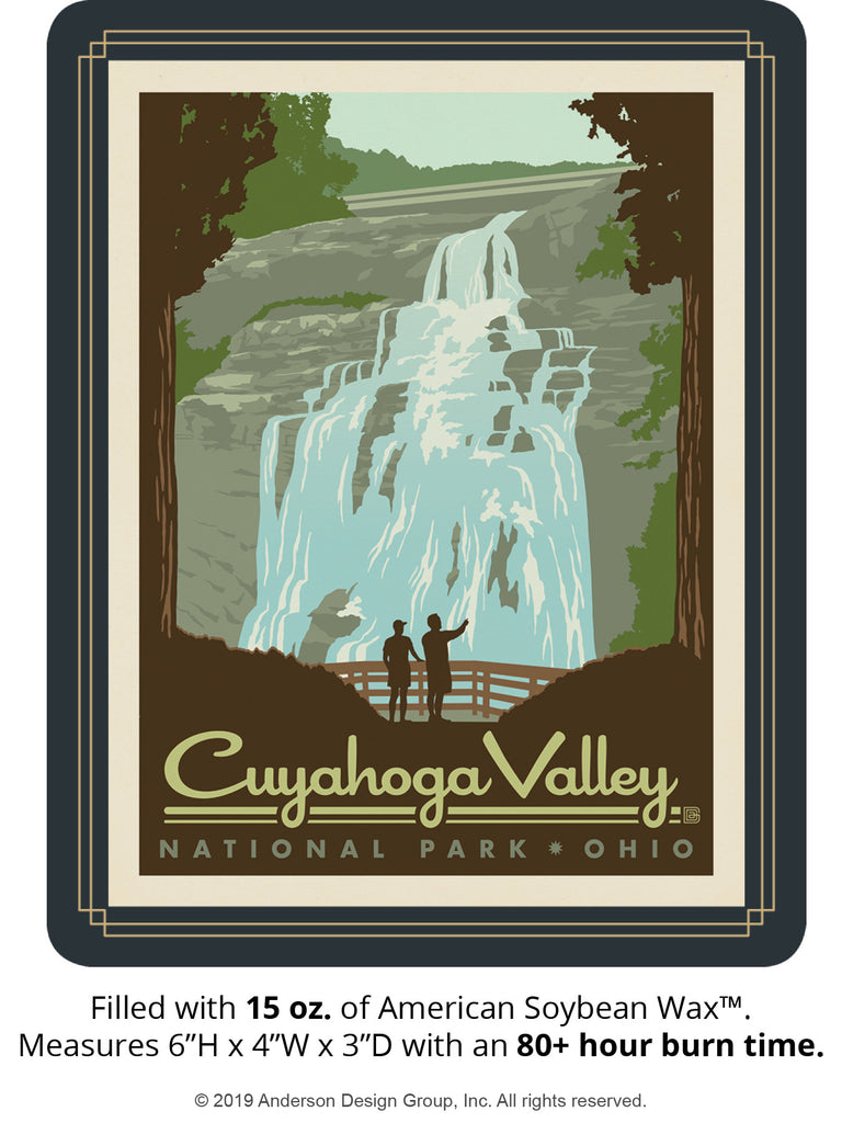 Cuyahoga Valley Keepsake Jar: Brandywine Falls