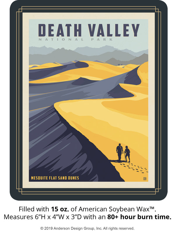 Death Valley Keepsake Jar: Sand Dunes