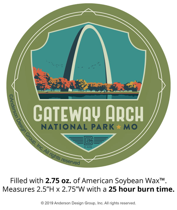 Gateway Arch Mini Jar