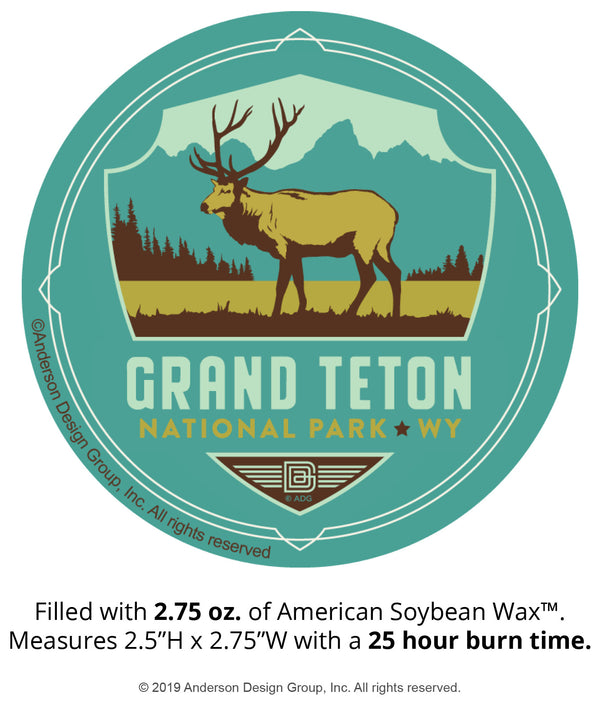 Grand Teton Mini Jar