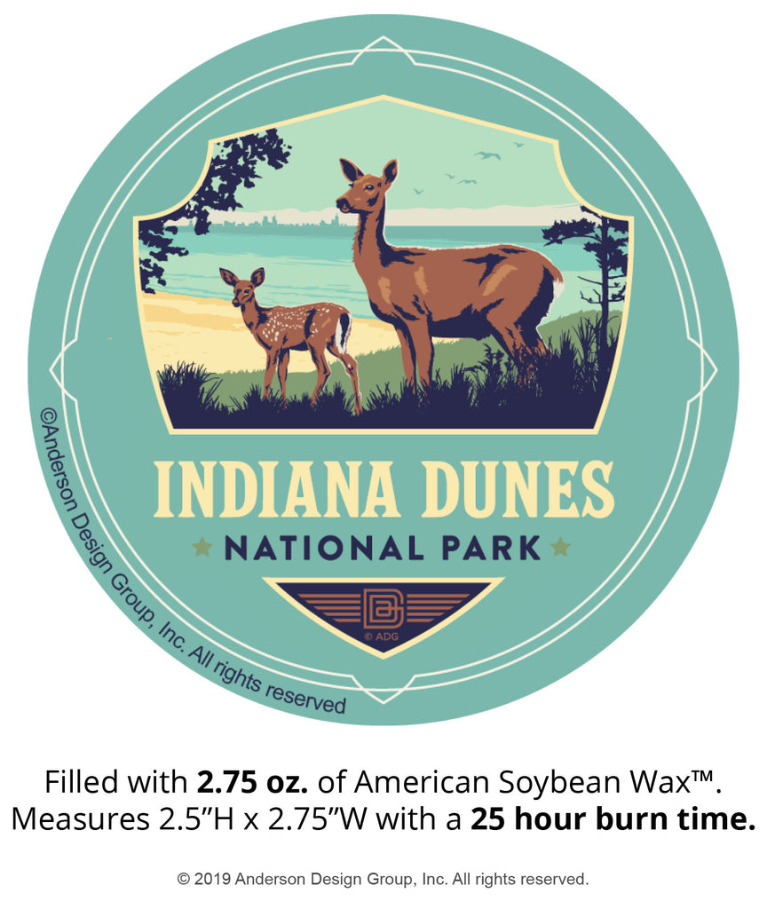 Indiana Dunes Mini Jar