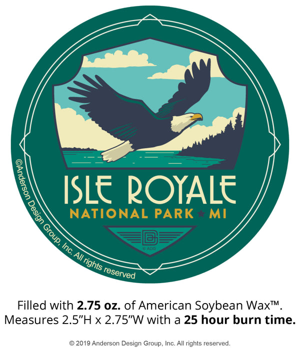 Isle Royale Mini Jar