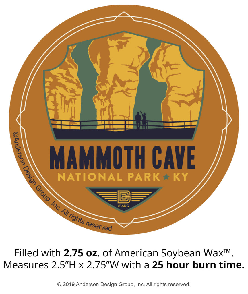 Mammoth Cave Mini Jar