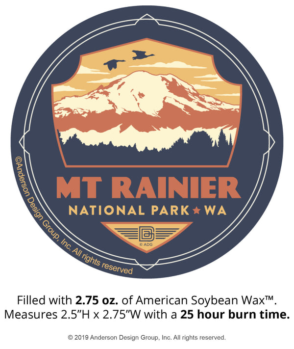 Mount Rainier Mini Jar