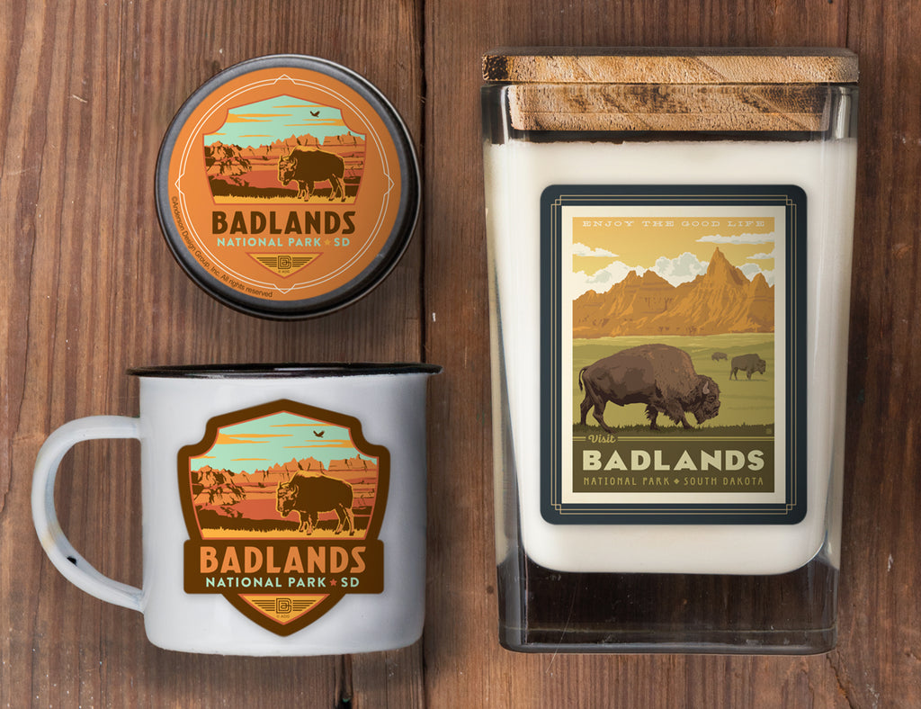Badlands Set of 3 Candles: The Good Life