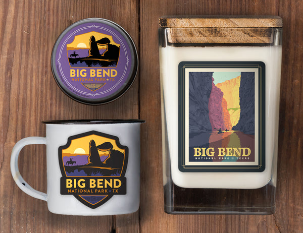 Big Bend Set of 3 Candles: Rio Grande