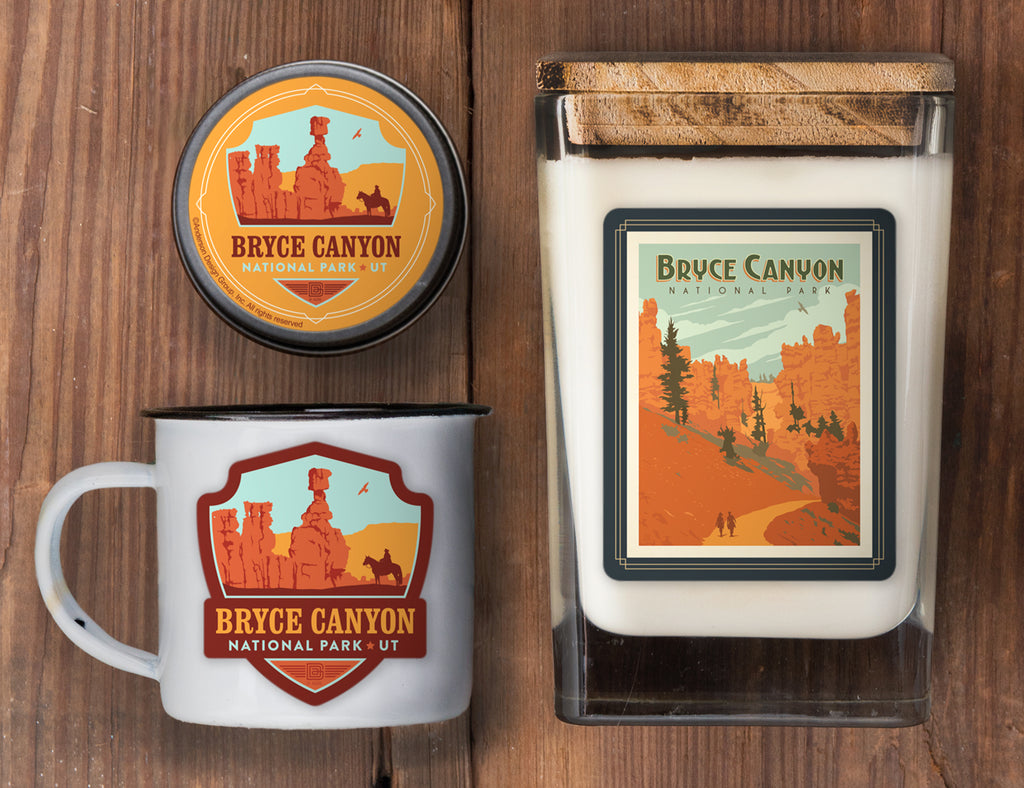 Bryce Canyon Set of 3 Candles: Queen's Garden