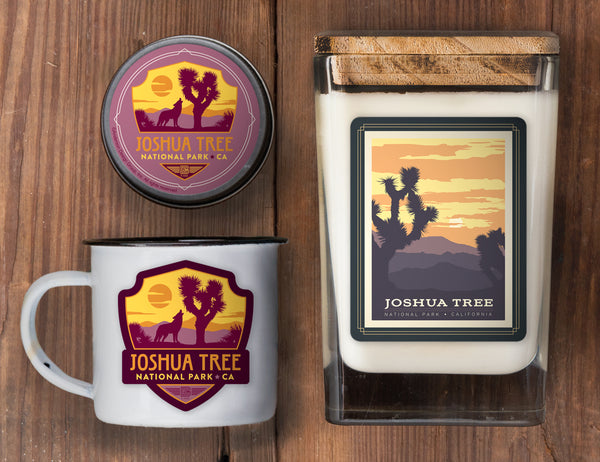 Joshua Tree Set of 3 Candles