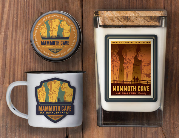 Mammoth Cave Set of 3 Candles