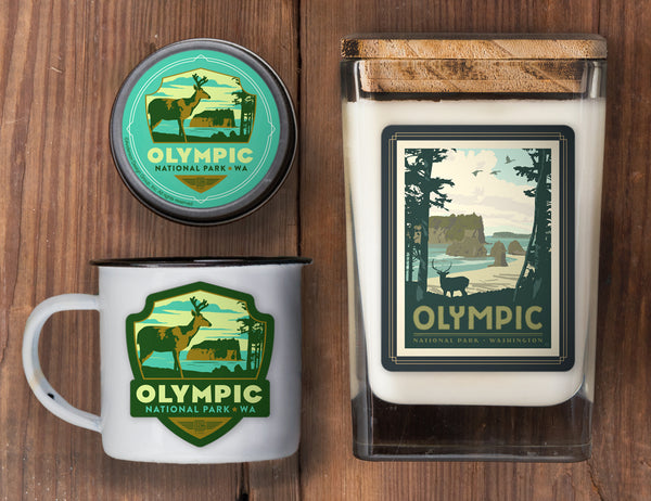 Olympic Set of 3 Candles