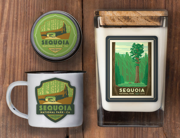 Sequoia Set of 3 Candles