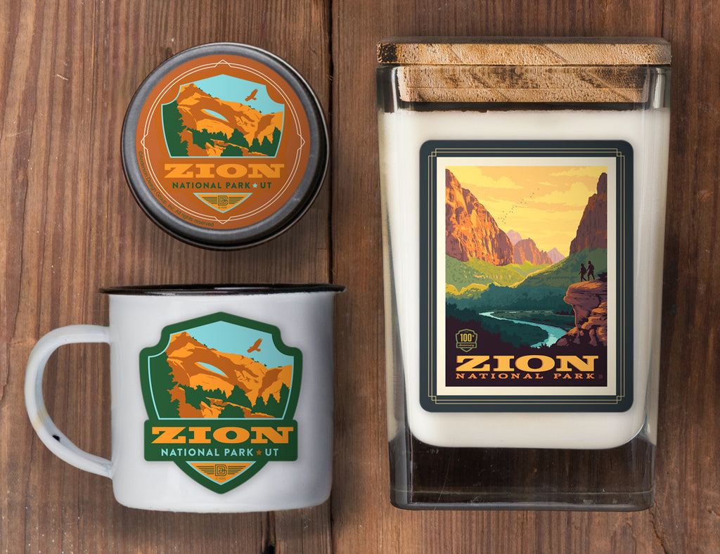 Zion Set of 3 Candles: 100th Anniversary