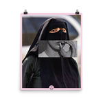 Hijab 1 Photo paper poster