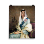 Queen Bhutto Photo paper poster